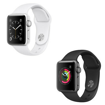 Apple Watch Series 2 42mm (Aluminum Case, Black or White Sports Band)