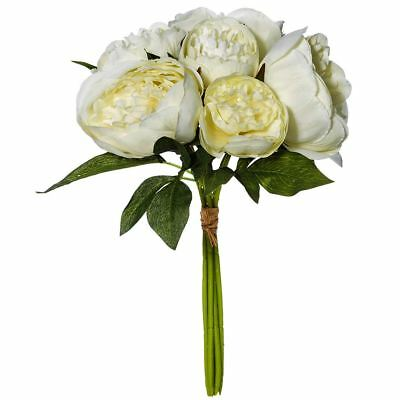 NEW White Peony Bunch By Freedom