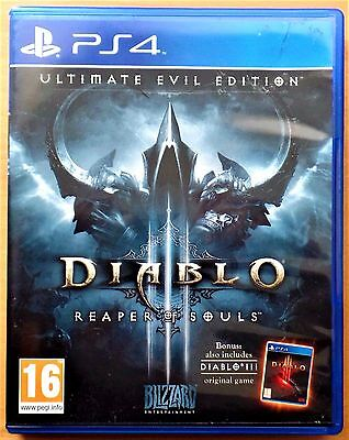 Diablo III (3) Reaper of Souls Ultimate Evil Edition Playstation 4 (PS4) Game
