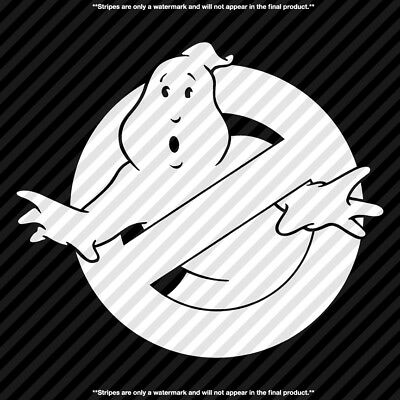 Ghostbusters Single Color Vinyl Decal Sticker - TONS OF OPTIONS