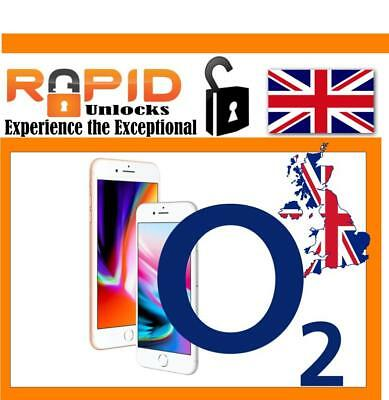 UNLOCK Service for iPhone 8 & 8 PLUS FOR O2 Tesco GiffGaff UK