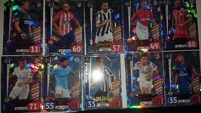 Match Attax Champions League 17 18 Hattrick Hero CLUB 100 Pro11 Man of the Match