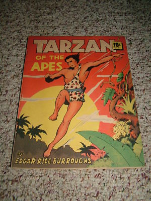 1938 TARZAN OF THE APES Dell Large Feature Comic #5 FN/VF