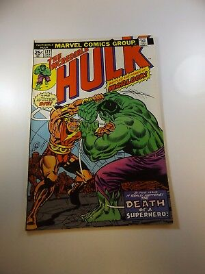Incredible Hulk #177 FN/VF condition MVS intact Huge auction going on now!