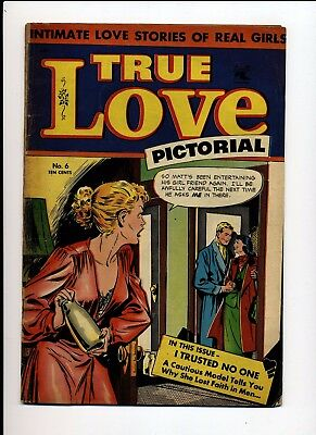 True Love Pictorial #6 Vg+ 1953 St John Matt Baker Cover
