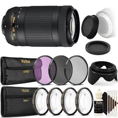 Nikon AF-P DX NIKKOR 70-300mm f/4.5-6.3G ED VR Lens with Ultimate Accessories