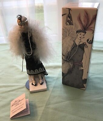 Avon Fashion of American Times Porcelain Doll Collection ~ Roaring Twenties ~