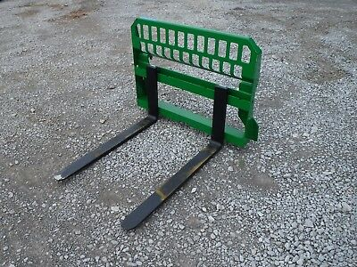 "John Deere Tractor Attachment - 48"" Pallet Forks 200 300 400 500 - Ship $199"