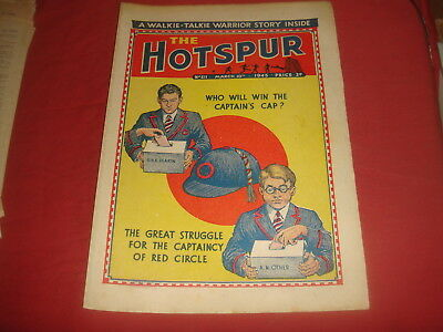 THE HOTSPUR #511  March 10th 1945  UK  British Comic
