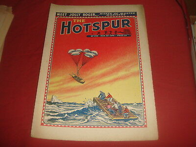 THE HOTSPUR #538  March 23rd 1946  UK  British Comic