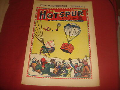 THE HOTSPUR #559  December 21st CHRISTMAS ISSUE  1946  UK  British Comic