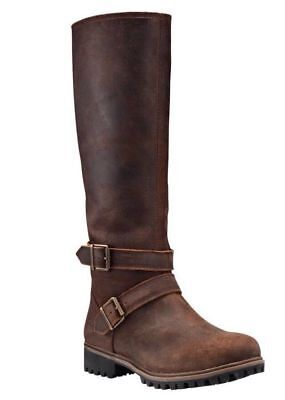 Timberland Women's Wheelwright Tall Buckle Waterproof Boots A15T3 Size:8.5