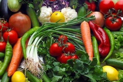 Vegetables (Combo pack /5 Items < 1250g) - (Free UK Post )