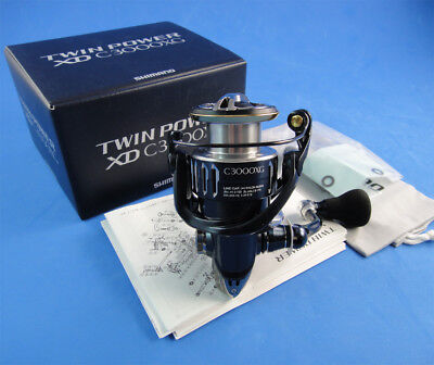 New Shimano Twinpower Xd C3000 Xg Spinning Reel **1~3 Days Delivery**