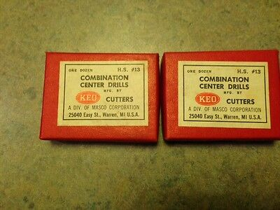 Keo #13 Hss Combined Drill/Countersink #11300
