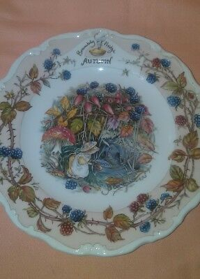 Vintage Royal Doulton Autumn Brambly Hedge Collection Series 1982 EUC  Cute!!!