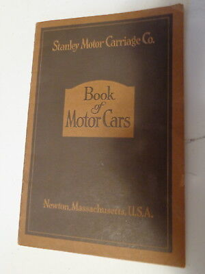 Stanley Motor Carriage Co Booklet Book of Motor Cars 1919