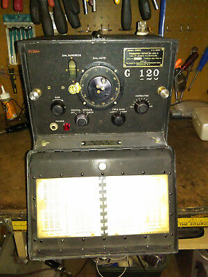 WW2 U. S. Army Signal Corps Frequency Meter BC-221-B