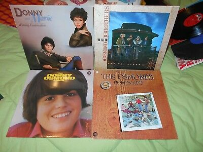 Donny And Marie Osmonds Winning Combination The Donny Osmond Album, Homemade Lot