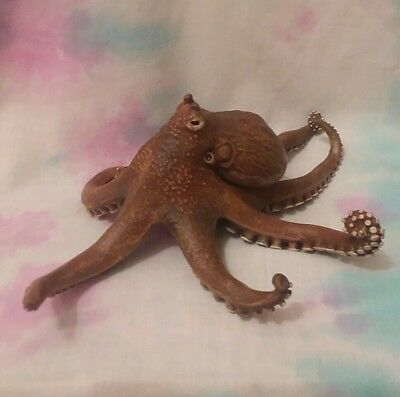 Papo Octopus Animal Sealife Replica Toy Figure 2014 #56013