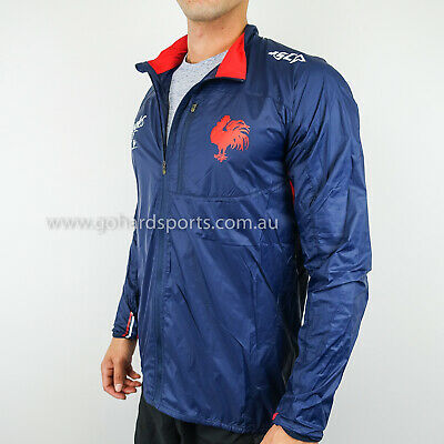 Sydney Roosters 2017 Navy Running Jacket: Sizes S - 2XL