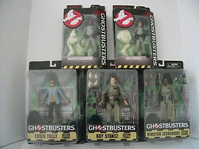 Diamond Select Ghostbusters~ Lot Of (3) Figures ~And~ (2) Mattle 2016 Figures