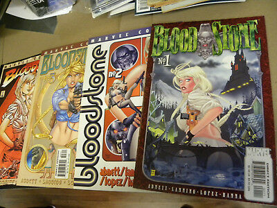 Marvel 2001 all 4 issues BLOODSTONE `1 2 3 4 1st appearance qq