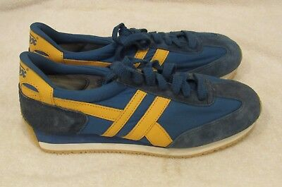 Vintage NWOB Blue Yellow Thom McAn Jox Running Shoes 9