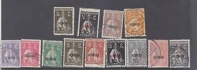 AZORES-1912-CERES X 13-USED-$10-freepost