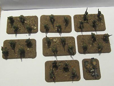 Flames of War FOW Russian infantry unit of 30 men in greatcoats painted based