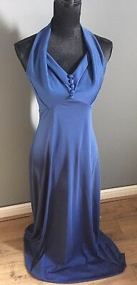 Vintage evening gown, 70's,  size 10 / 12, bridesmaids, wedding
