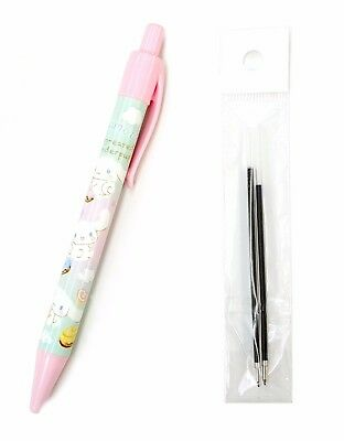 Sanrio Cinnamoroll Ballpoint Pen Blue Ink with 2 refills 170864-00 Reg Shipping