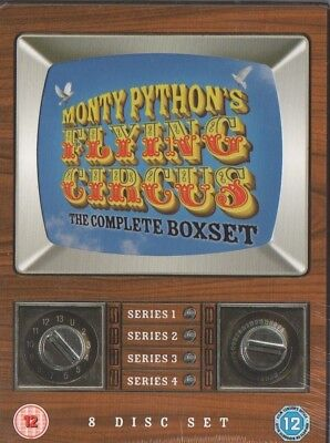 Monty Python's Flying Circus - Series 1-4 - Complete DVD Box Set
