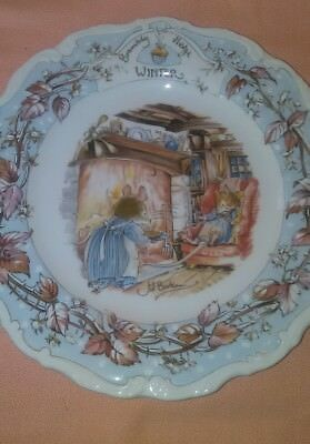 Vintage Royal Doulton Spring Brambly Hedge Collection Series 1982 EUC Very Cute!