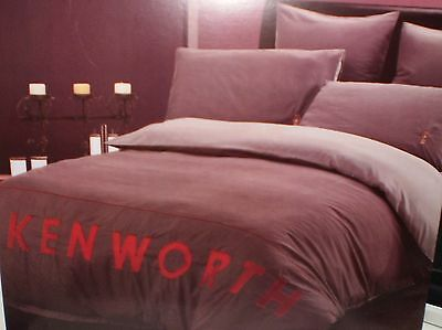 Kenworth Limited Edition Quilt Cover Set Double New