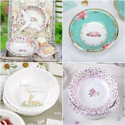 Vintage Floral Party Tableware Shabby Chic Afternoon Tea Buffet Wedding Garden