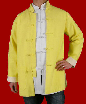 29a6f0922a Fine Linen Kung Fu Martial Arts Tai Chi Jacket Coat XS-XL or Tailor Custom