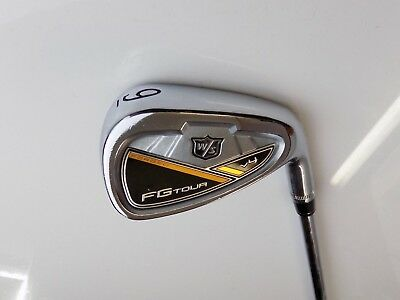 Wilson Staff FG Tour V4 9 Iron Project X 6.5 Extra Stiff Flex Rifle Steel Shaft
