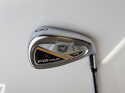 Wilson Staff FG Tour V4 8 Iron Project X 6.5 Extra Stiff Flex Rifle Steel Shaft