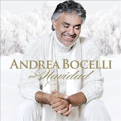 ANDREA BOCELLI - MI NAVIDAD - CD Album Brand New Sealed