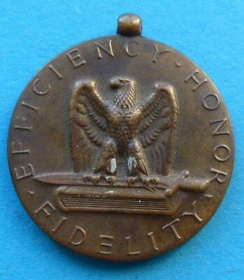 ! Usa United States Medaille Medal For Good Conduct Efficiency Honor Fidelity