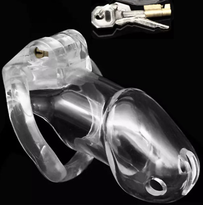HD Clear Small Trainer Male Chastity Device Belt Keuschheitsgürtel