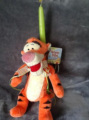 Disney Tigger Easter Candle From Greece