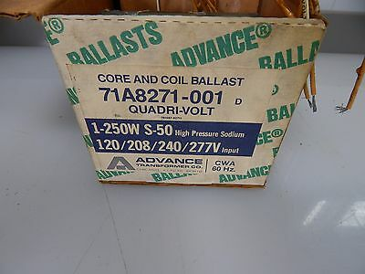 Advance Ballast 71A8271-001 Quadri-Volt 1-250W High Pressure sodium 120/208/240/