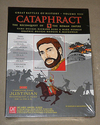 Cataphract : Great Battles of History VIII - GMT {NEW-SEALED} OOP RARE