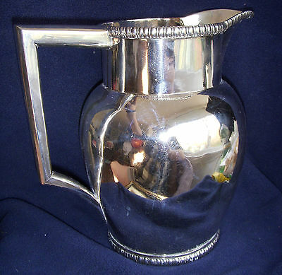 ANTIQUE c.1810 BOSTON MASS CHURCHILL & TREADWELL STERLING SILVER PITCHER