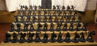 MINAS TIRITH WARRIORS - Lord Of The Rings 60 Plastic Figure(s)