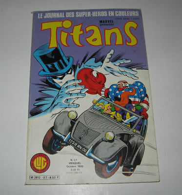 Titans N° 57 Ttbe 1983,marvel Lug,star Wars,power-Man,dazzler,mikros (Strange)