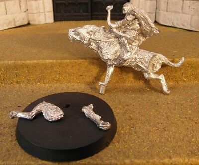 WARG RIDER - Lord Of The Rings Metal Figure(s)