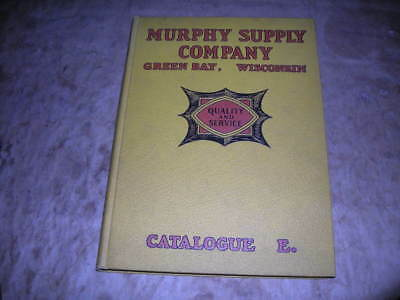 Old Antique Plumbing Catalog, 1925 Titled Murphy Supply Co. Green Bay Wisconsin